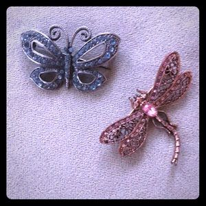 Accessories - Butterfly Dragonfly Pins Brooch